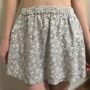 Cooperative Artsy Mini Skirt with Pockets Size S